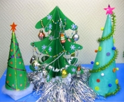 Новогодняя поделка к году для детей