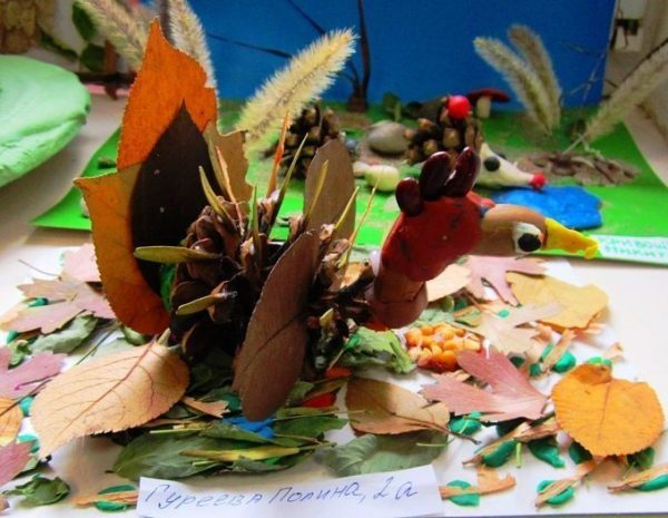 Детские поделки из природного материала своими руками