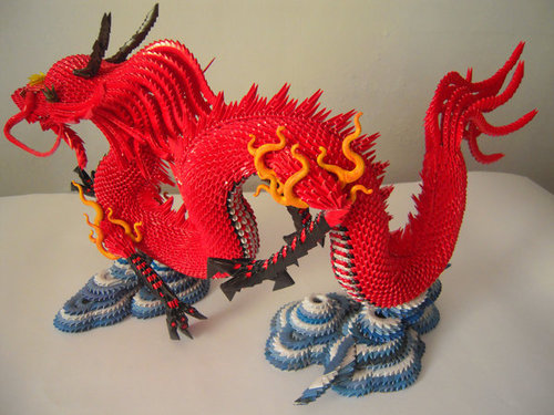 3D Origami Dragon Tutorial  YouTube