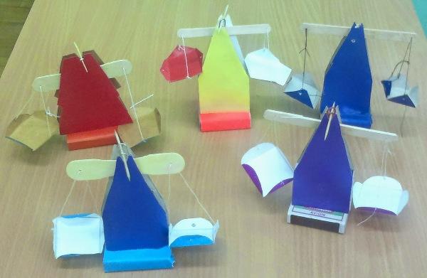 Работа с бумагой конструирование модели весов рамина эсхакзай