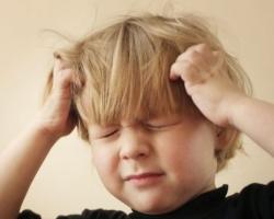 Черепно-мозговая травма у ребенка