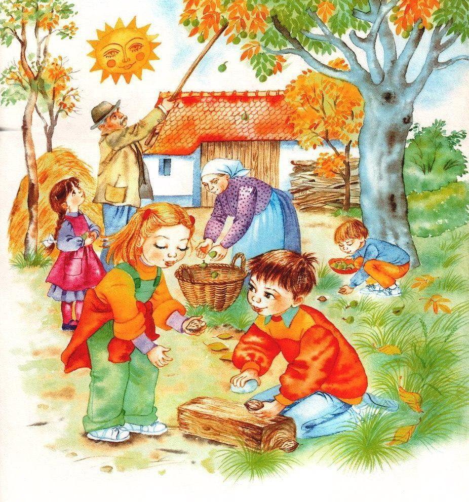 Картинки по теме осень для детей, смешные картинки