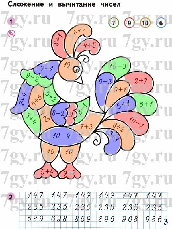 Решебник перспектива математика 1   гдз решебник по математике 3.