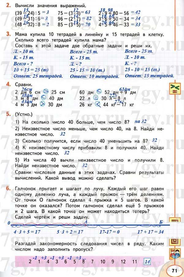4 класс решебник 2100 за задач