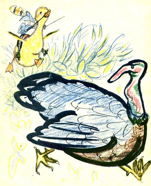 Картинки чуковского бибигон