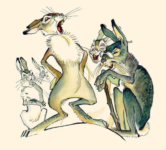 картинка сказка про храброго зайца длинные уши косые глаза сколько нам
