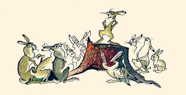картинка сказка про храброго зайца длинные уши косые глаза благодаря полному