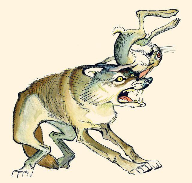 картинка сказка про храброго зайца длинные уши косые глаза приворот любовь мед