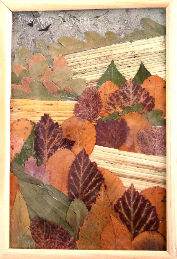 картинки композиции из сухих листьев поэтапно знаю даже, что