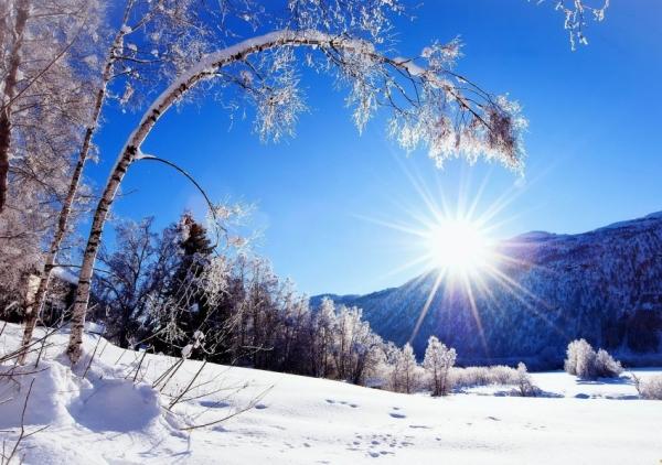 Зима. Зимние месяцы. Зимние явления природы
