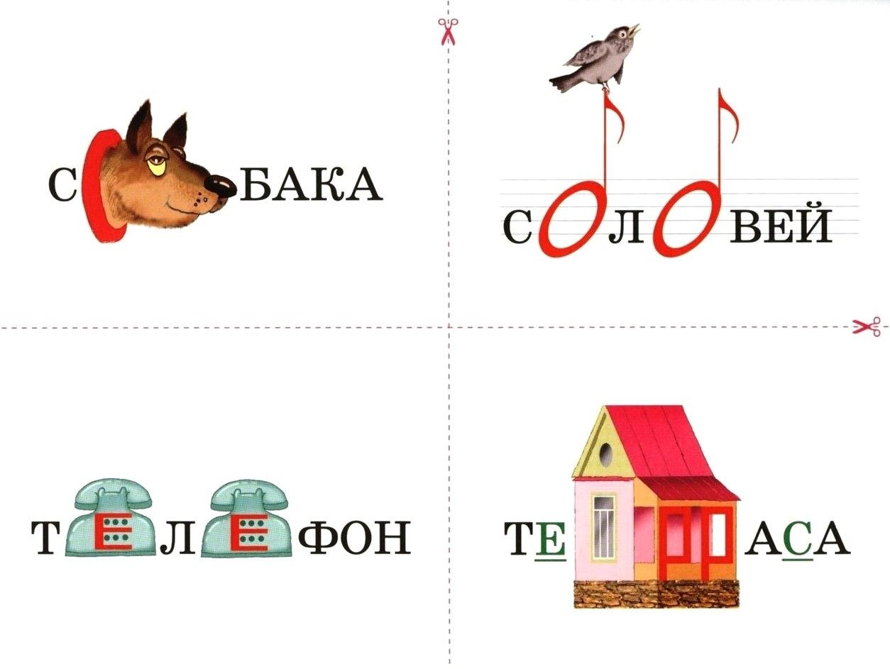 Словарное слово русский в картинках для детей