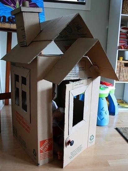 Сделать своими руками из коробок для детей фото 824