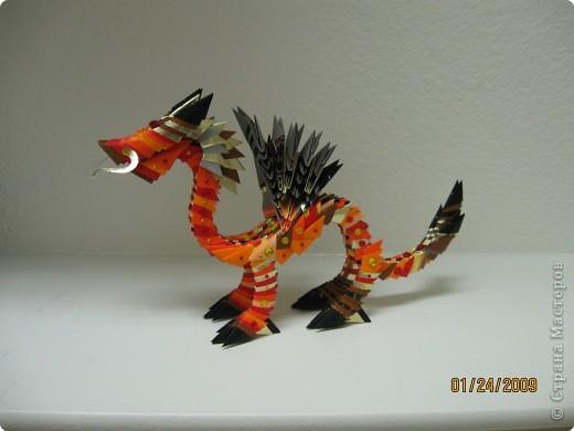 Дракон из модулей схема сборки фото 27