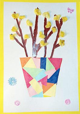 Поделки на 8 марта дома и в детском саду